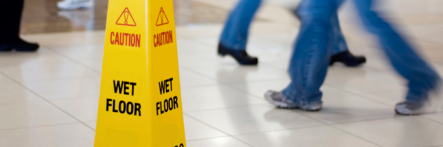 Slip and fall personal injury