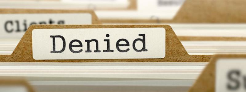 Denied file folder