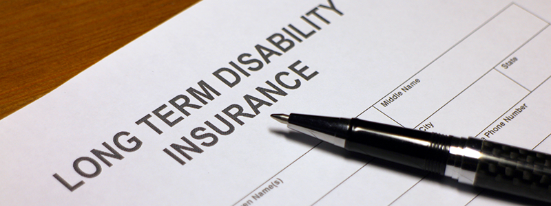 long term disability insurance form